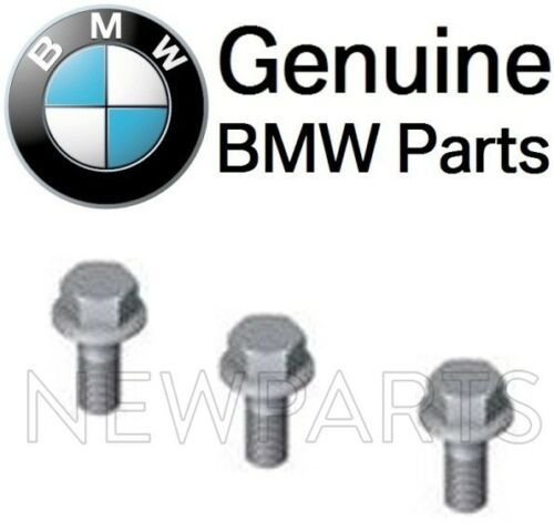 For BMW Set of 3 Exhaust Control Valve Actuator Nut SCREWS Hex Bolts M6X16 OES