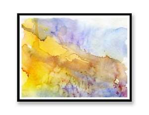 yellow-Abstract-landscape-ink-abstract-painting-unique-gift-Print-ID-390