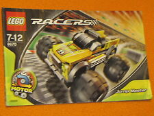 Lego Set 8670 INSTRUCTIONS ONLY Racers Jump Master Manual Booklet Book Motor Car