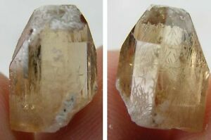#11 Mexico 100% Natural Terminated Peach Imperial Topaz Crystal Specimen 7.05ct