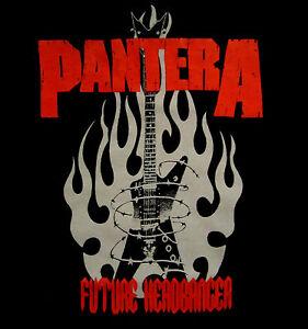PANTERA-cd-lgo-FUTURE-HEADBANGER-Official-Baby-ONE-PIECE-Shirt-24-months-New