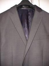 John Lewis 42L mens 100% WOOL Mini-Herringbone Charcoal Jacket RRP £130