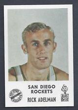 1968 Jack in the Box Rick Adelman San Diego Rockets MT Plus Beautiful Card