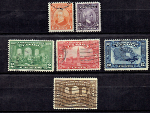 1927-Canada-BNA-Geo-V-COMPLETE-SET-TO-12c-Sc-141-45-Used-Incl-High-values
