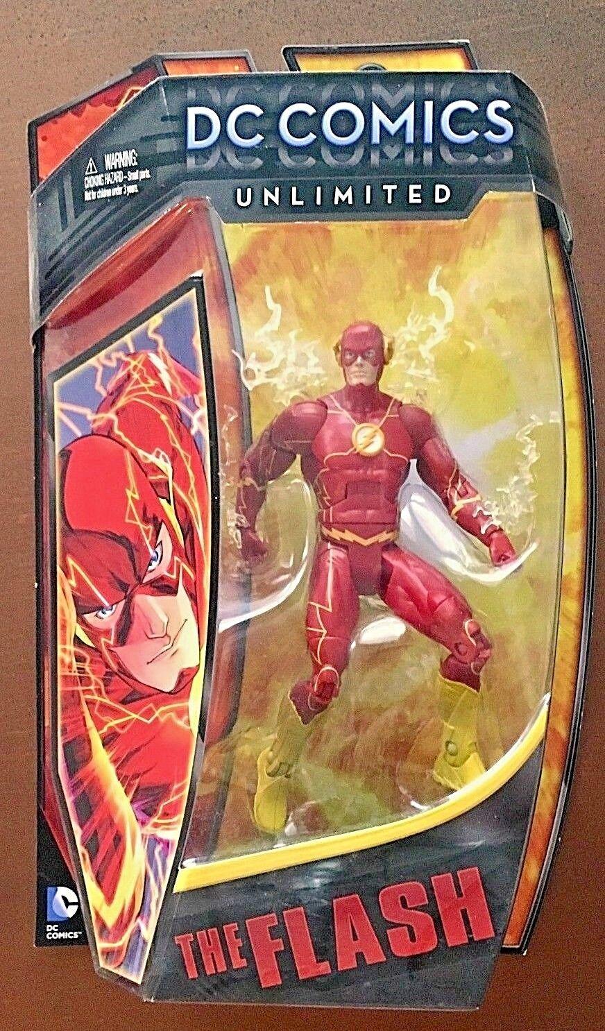 BRAND NEW DC Comics Unlimited The Flash Mattel