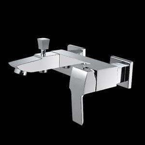 Bad Wannen Armatur Dusche Brause Einhebelmischer Mischbatterie Badewanne