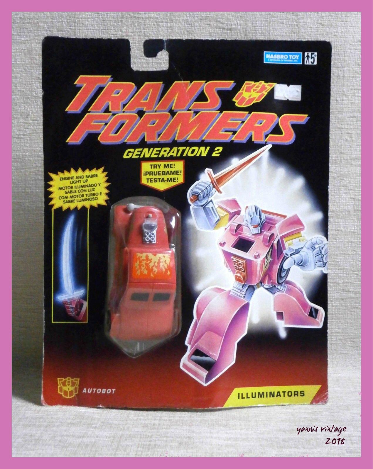 Transformers G2 illuminatori Volt maggior parte dei HASBRO 1993 VINTAGE RARE Nuovo di Zecca