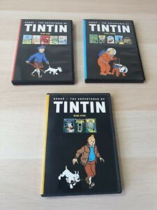 Herge-The-Adventures-of-Tintin-Complete-Collection-DVDs-5-DISC-SET-Excellent