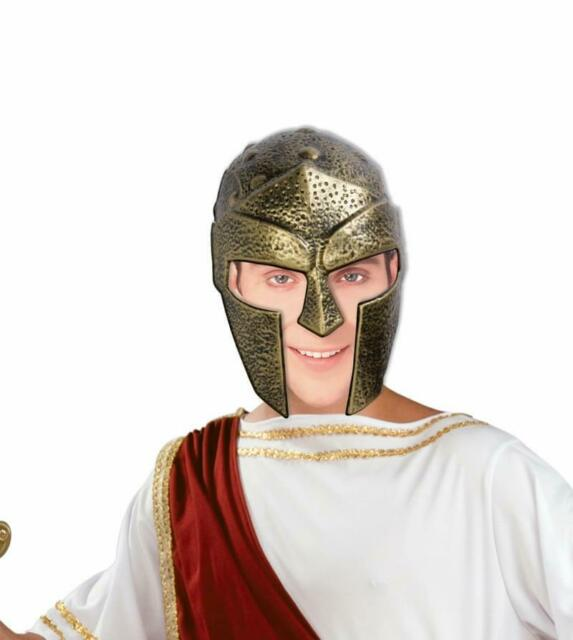 Gold Gladiator Adult Costume Helmet