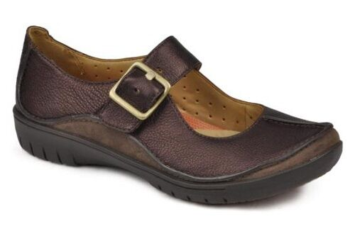 Clarks Unstrukturiert 'Un Brücke' Schuhe Damen Bronze Leder Freizeit Bequeme Schuhe Brücke' b856e2