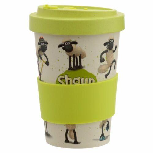Bambou Tasse To Go Shaun Le Mouton Couvercle Manchette durabilité