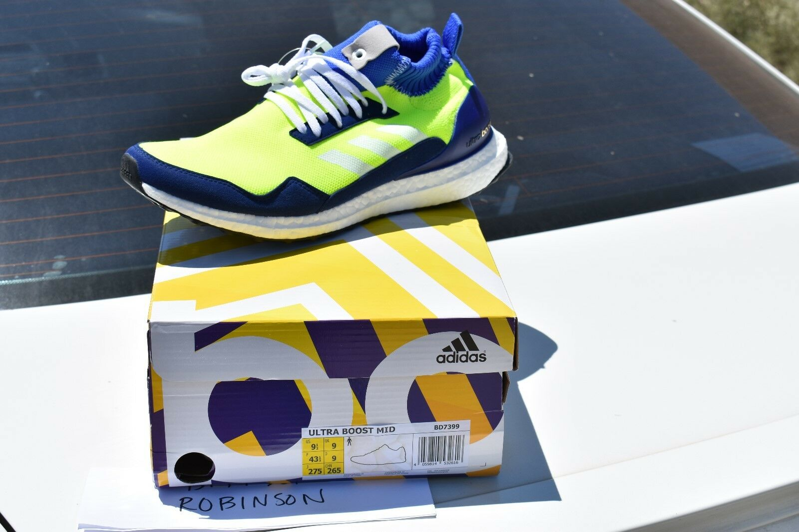 4e024eb34 Adidas Ultra Boost Mid Predotype sz 9.5 BD7399 pharrell hu nmd yeezy clima