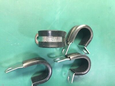 """UMPCO CUSHION CLAMP S325SSG38 QTY 10 2 3//8/"""" X 5//8/"""" STAINLESS STEEL MARINE BOAT"""