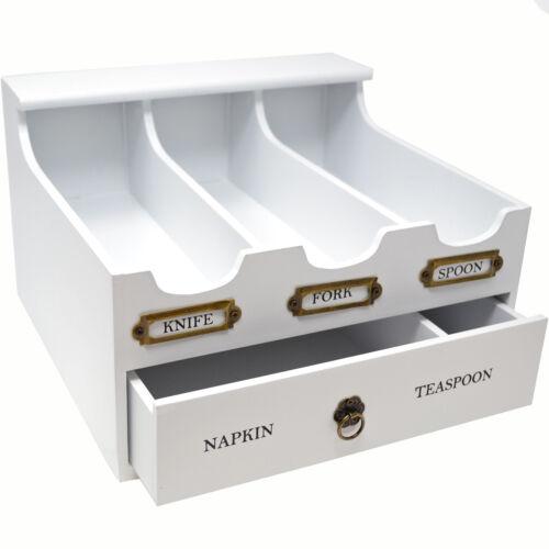 Cutlery Holder Plateau Organisateur Box 5 compartiments tiroirs de rangement cuisine ustensiles