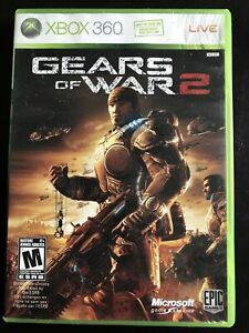 Gears of War 2 (Microsoft Xbox360, 2008) Complete Tested And Works