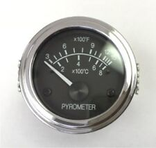 """Pyrometer 0-1600F EGT gauge, 2""""/52mm, come with K thermocouple included"""