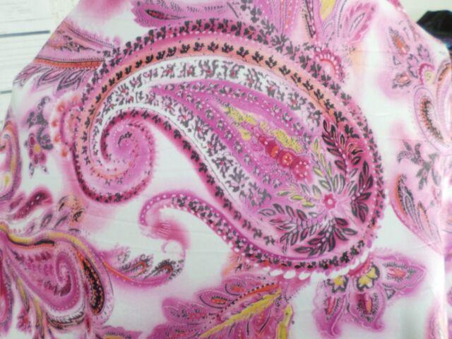 1  yd  print fabric  good weight 4 way spandex lycra J5975