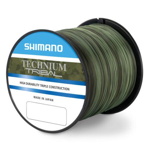 Shimano Technium Tribal Schnur 0,305mm 8,5Kg 1100m Großspule Monofilschnur