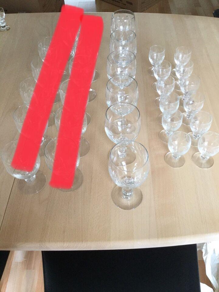 Glas, Facetslebne glas, Bygholm