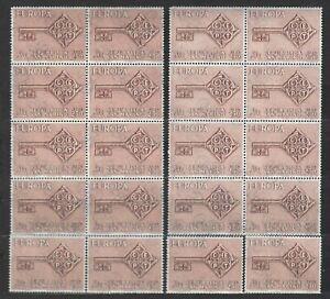 DEALER STOCK SAN MARINO MNH Nuovi 1968 Europa Cept 1v   20 SETS s32668