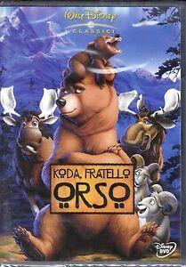 Dvd-Disney-KODA-FRATELLO-ORSO-nuovo-2004