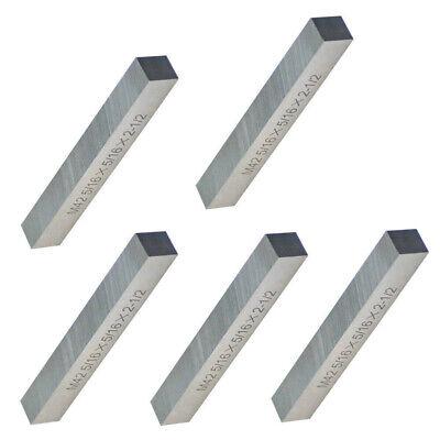 "5 PC Lathe Tool Bit Steel Fly Cutter Milling HSS 5//16 x 5//16 x 2-1//2/"" M42 Square"
