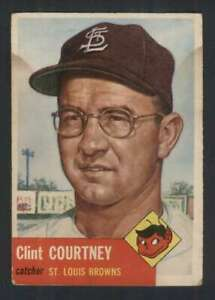 1953-Topps-127-Clint-Courtney-VG-VGEX-RC-Rookie-DP-87369