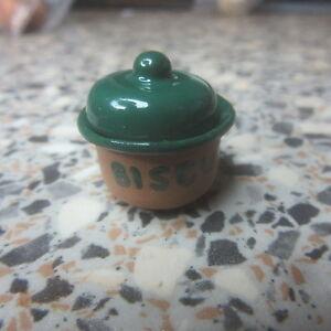 1/12 Échelle Maison De Poupées Biscuits Bocal Vert Cp023gr-afficher Le Titre D'origine éLéGant Dans Le Style
