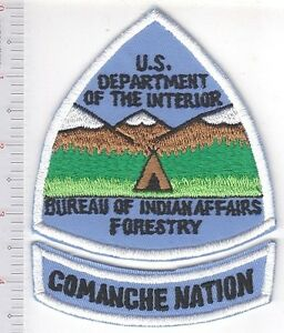 Details about Tribal Firemen Oklahoma Comanche Nation Hot Shots Bureau of  Indian Affairs BIA