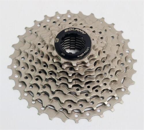 BOLANY 9 Speed 11-32T MTB mountain Bike Freewheel bicycle flywheel Cassette 310g