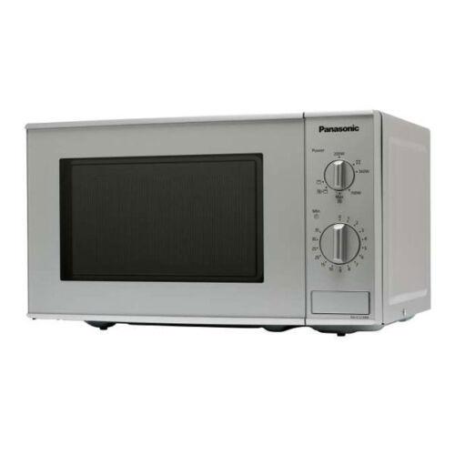 Panasonic NN-K 121 M microonde 5 livelli di prestazioni Quarzo GRILL argento 1000 Watt