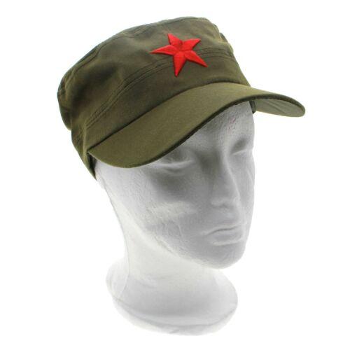 Unisex Retro Communist Red Star Army Style Cotton Hat Cap Headwear Gift