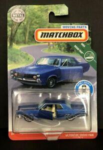 Matchbox Moving Parts Case H 1964 Pontiac Grand Prix  NEW