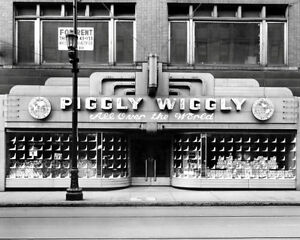 Piggly-Wiggly-Store-1-Photo-8X10-1935