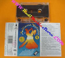 MC COMPILATION BALLIAMO ITALIANO VOL.1 1995 Al Rangone Bagutti Bianchi  no cd lp