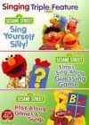 Sesame Street Sing and Play Triple FE 0891264001601 DVD Region 1