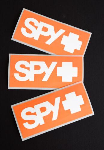 SPY Optics 3-pack Small Vinyl Decal//Sticker Skateboard //Snowboard //Auto etc.