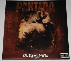 Pantera Far Beyond Driven 2x Lp Original Ltd Ed Gatefold Vinyl