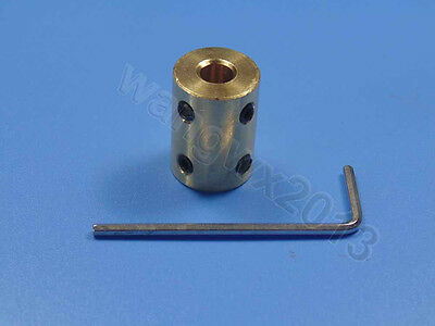 5//6//7//8//10//12mm Shaft Coupling Rigid Coupling Coupler Motor connector screw