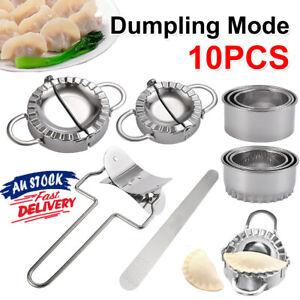 5x Dumpling Maker Stainless Steel Dough Press Pie Ravioli Making Mold Mould Tool