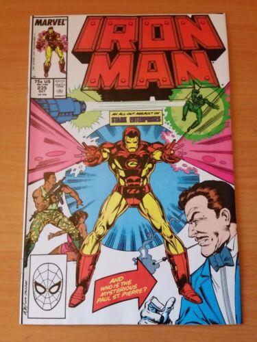 Iron Man #235 ~ NEAR MINT NM ~ 1988 Marvel Comics