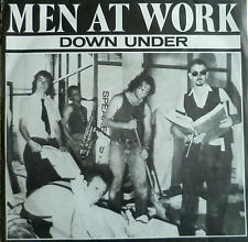 """7"""" 1981 REAL KULT IN MINT- ! MEN AT WORK : Down Under"""