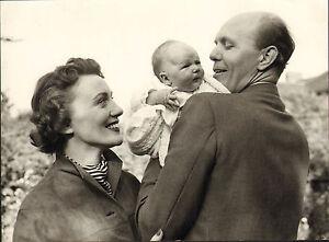Original Old Black And White Photo Of David Nixon Family Ebay