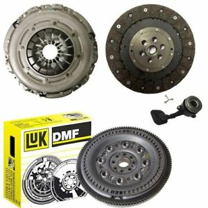 LUK-Doble-Masa-Rigida-Volante-Kit-de-embrague-y-CSC-para-un-Ford-Focus-1-8-TDCi