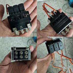 3CH-Hydraulic-Steering-Valve-Kits-Para-RC-Excavator-TAMIYA-Trailer-1-14-Modelo
