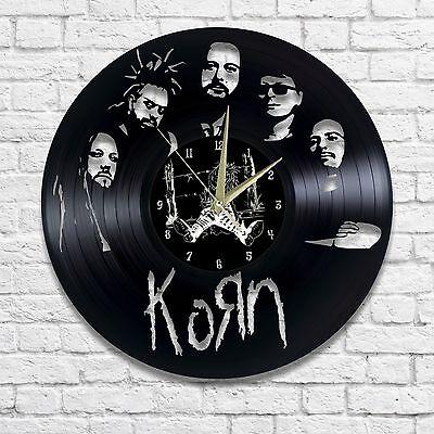 KORN vinyl wall clock