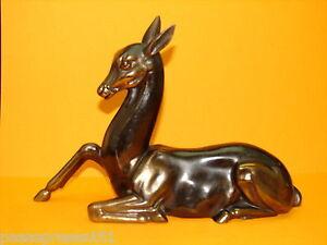 Jolie Ancienne Biche En Régule, 1930, Art Déco Dueck0us-10111725-529896296