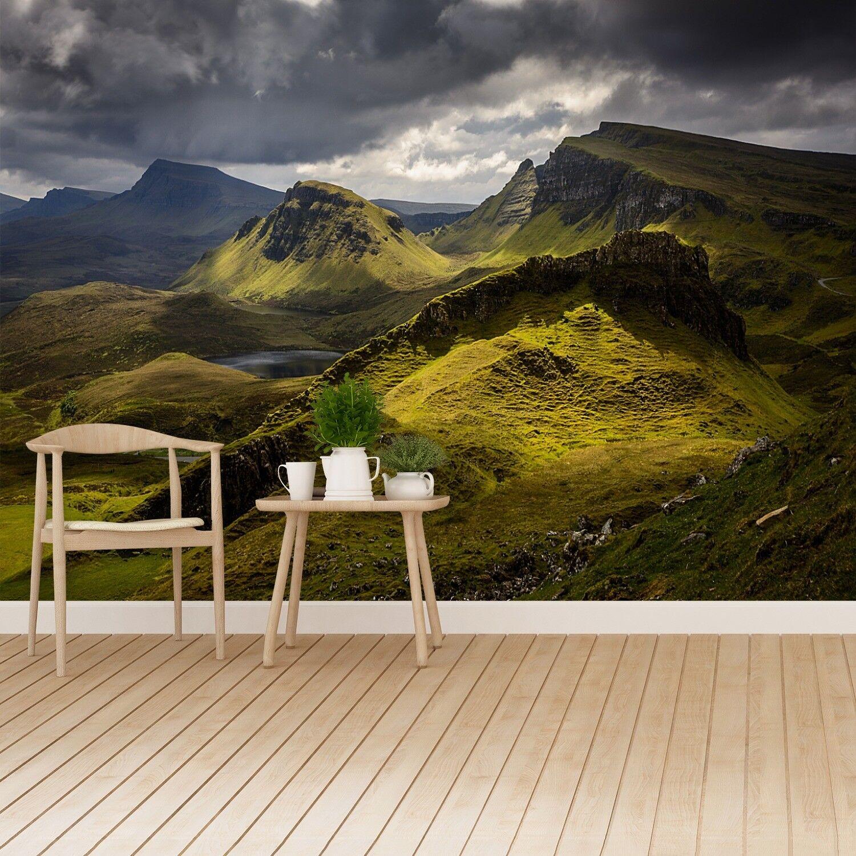 Fototapete Selbstklebend Einfach ablösbar Mehrfach klebbar Quiraing Schottland