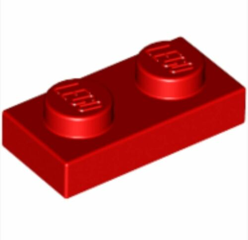 /_Bright Red Lot of 10 302321/_LEGO Plate 1x2 3023