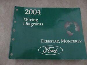 2004 Ford Freestar Mercury Monterey Service Manual ...